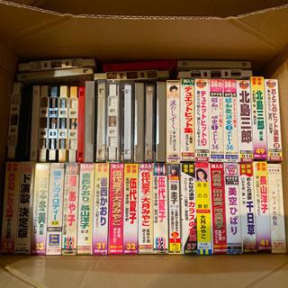 演歌カセットテープ40数本