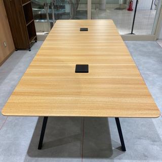 【新古品】オフィスデスク 幅2,400mm DI-T121OE NA