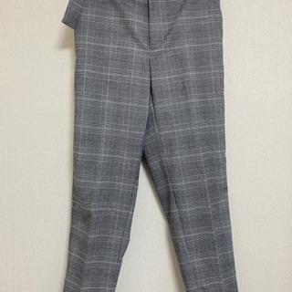 【早い者勝ち】GUテーパードパンツ スーツ パンツ オフィスカジ...