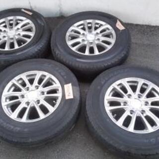 ホイール タイヤ 4本セット キャラバン e24系