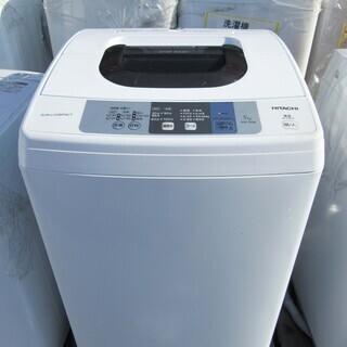 【恵庭】日立/HITACHI 全自動洗濯機 2018年製 NW-...
