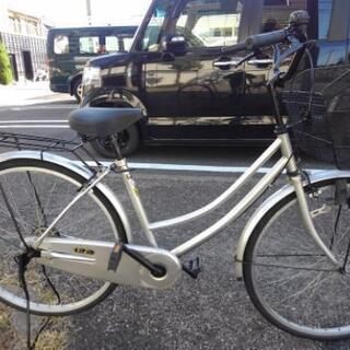 中古自転車1202 前後タイヤ新品! 26インチ ギヤなし ダイ...