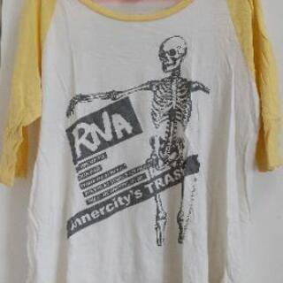 *RNA*ラグランTシャツ*ドクロ*Mサイズ*