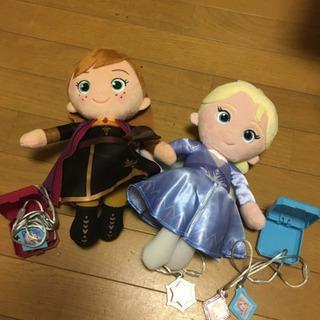 アナと雪の女王2  ぬいぐるみ うたって おしゃべり!!