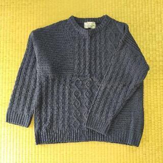 レディースセーターF 紺