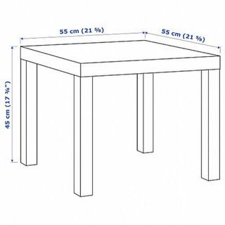 IKEAの白いテーブル - 福岡市