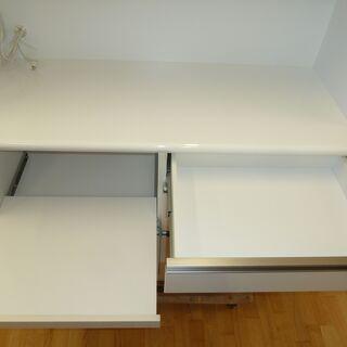 値下げしましたk33☆クラフトコガ☆幅1200㎜☆ブルモーション+モイス板付き☆良品☆近隣配達、設置可能 - 家具