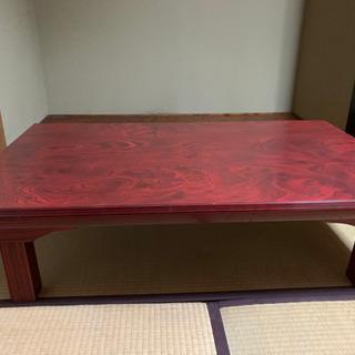 折りたたみテーブル 和式 欅 木製 無垢 さらにお値下げしました!