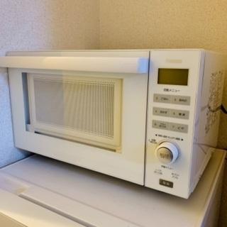 【ネット決済】 ツインバード オーブンレンジ フラット型 18L...