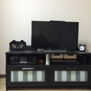 IKEA ブリムネス テレビ台 黒