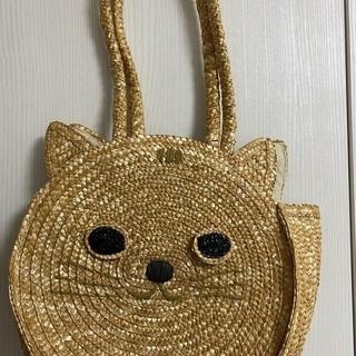 【500円】猫 ストローバッグ
