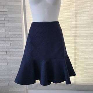 23区 紺 ひざ丈スカート  サイズ40