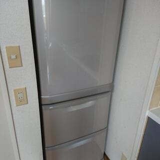 三菱冷蔵庫 3ドア 330㍑  2007製決まりました。!…