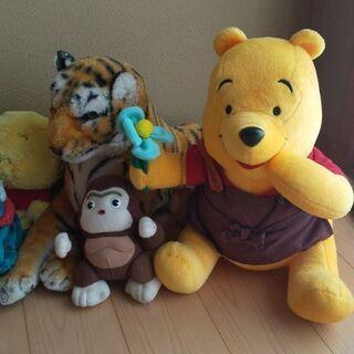 【ネット決済】クマのプーさん他、ぬいぐるみ🐻セット、大変お買い得❗️