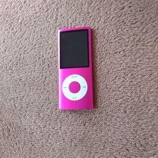 ジャンク iPod nano 第四世代 ピンク8GB