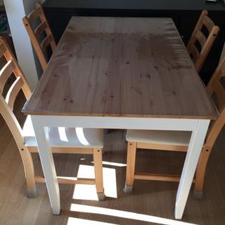[決まりました]IKEA ダイニングテーブル