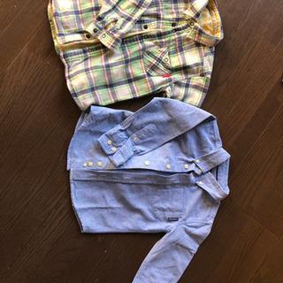 110サイズ Yシャツ2点