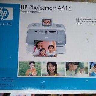【未使用】写真プリンター HPフォトスマートA616