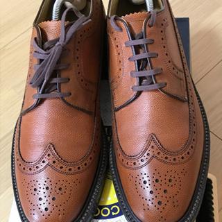 数回使用の美品!REGAL 靴  2235NA 本革 ウイ…