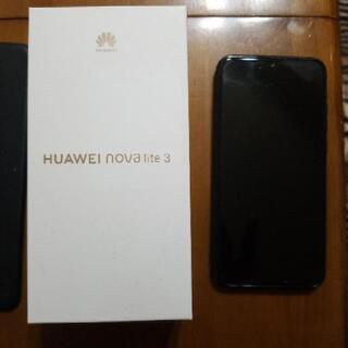 huawei nova lite 3  32gb simフリ