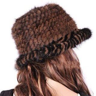 ミンクの帽子