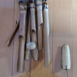 竹製の風鈴