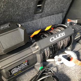 電動ウインチ 9500lb(4310kg) ファイバーロープ 12V