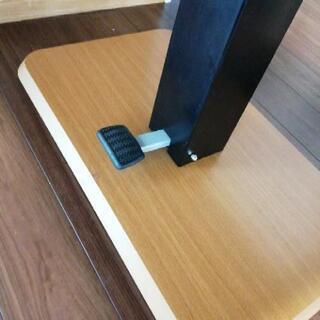昇降テーブル ダイニングテーブル - 甲斐市