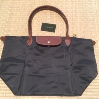 【ネット決済】【美品・ほぼ未使用】ロンシャンのたためるトートバッグ