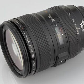 CANON EF24-105mm F4L IS USM オーバー...