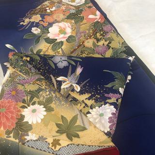振袖フルセット、京都着物友禅、成人式、美品です