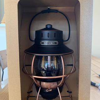 ベアボーンズ レイルロードランタン LED ビンテージ