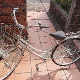 決定しました。自転車 26インチ 白の画像