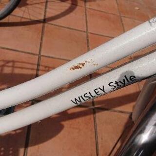 決定しました。自転車 26インチ 白 - 自転車