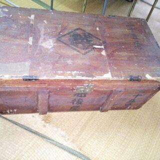 大型の木箱(中古)