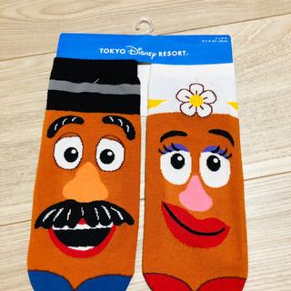 【ネット決済】【Disneyグッズ】新品 ポテトヘッドの靴下