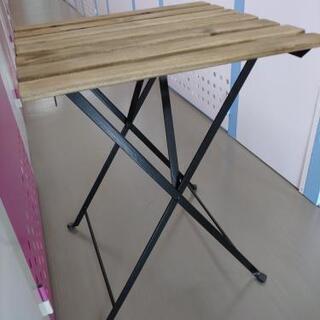 【ネット決済】ガーデンテーブル★木製ウッドテーブル