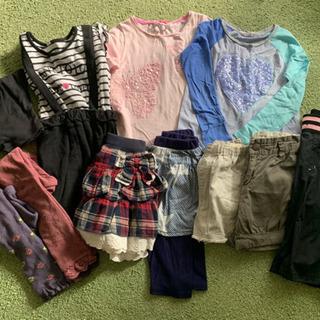 女の子 夏冬服 120.130