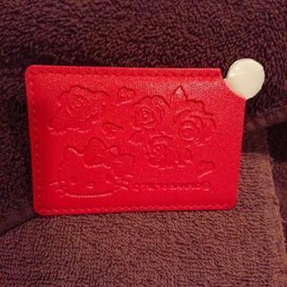 Hello Kitty  革タイプ カード入れ