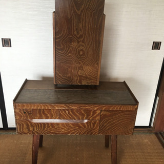 昭和時代の三面鏡