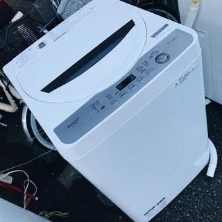〈〉SHARP シャープ 5.5kg 洗濯機 17年式 ES-GE5B