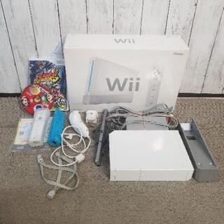 Wii本体フルセット ソフト2本おまけ付き