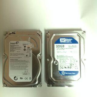 ◆お買い得:2TB & 320GB ハードディスク 3.5HDD...