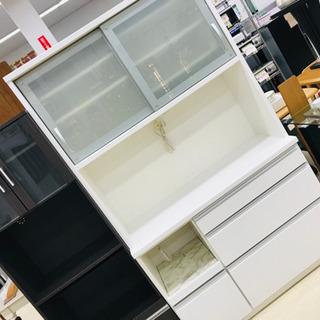 値下げ◆松田家具 レンジボード レンジ台 キッチン家電収納…