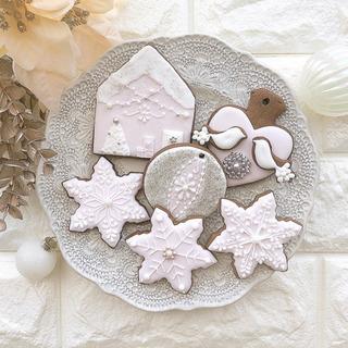 12月アイシングクッキー、マカロン1dayレッスン