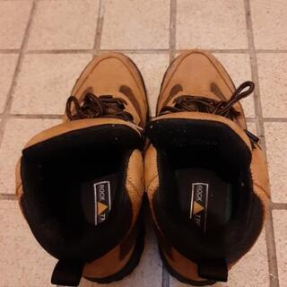 激安並上キャメル ブーツ26cm - 靴/バッグ
