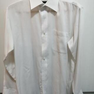 白の長袖カッターシャツ 5枚
