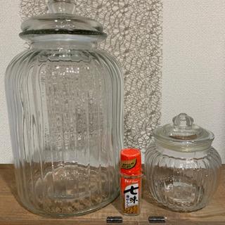 お取り置き中✨オシャレ 保存容器 大と小