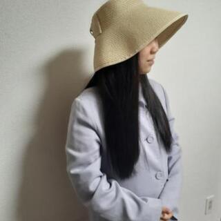 【ネット決済・配送可】携帯便利な日除け帽子