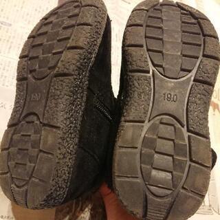 19cm 女児 ブーツ 黒 − 滋賀県